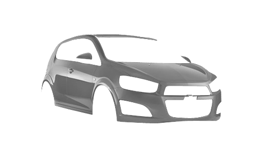 Цвета кузова Aveo Hatchback 5d