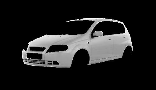 Цвета кузова Aveo Hatchback