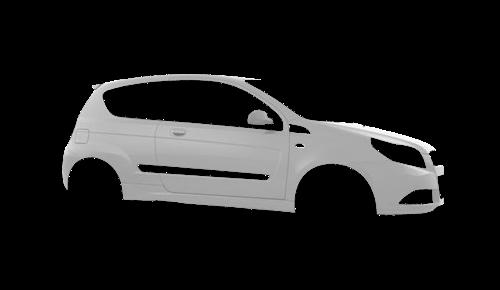 Цвета кузова Aveo Hatchback 3d
